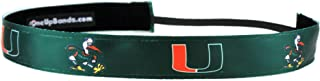 One Up Bands Women's NCAA University of Miami Team One Size Fits Most