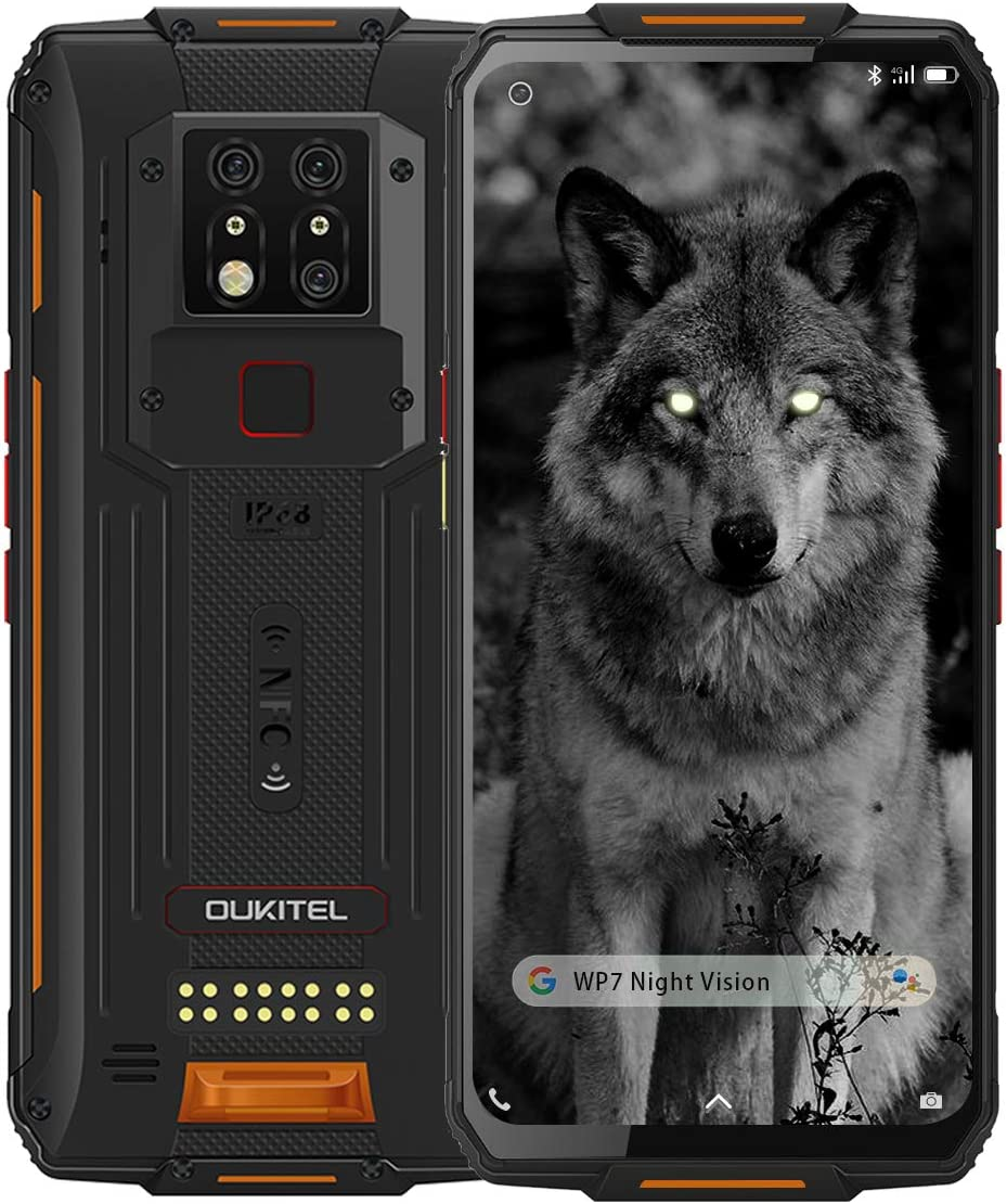 WP7 Rugged Smartphone Night Vision Camera online shopping Large-scale sale 8GB + 128GB P90 Helio