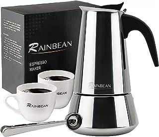 Kaffekanna med dubbla bottnar med 6 koppar