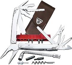 Victorinox Multifunktionsverktyg Swiss Tool Spirit XC Plus (35 funktioner, läderfodral) silver