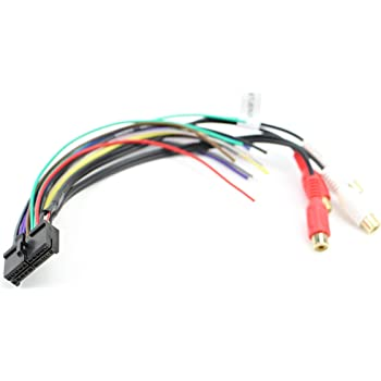 Amazon.com: Xtenzi Car Radio Wire Harness Compatible with Pyle CD DVD  Navigation In-Dash - XT91060: Automotive   Pyle Audio Wire Harness      Amazon.com
