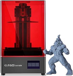 ELEGOO Saturn Impresora 3D, MSLA Impresora 3D de Resina UV con LCD Monocromo 4K de 8.9 Pulgadas, impresión rápida y Alta p...