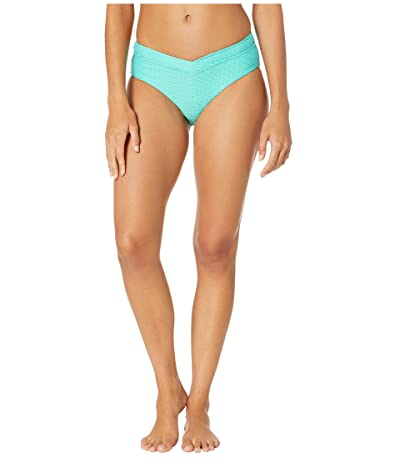 Seafolly La Luna Retro V Front Bikini Bottoms (Antigua Blue) Women