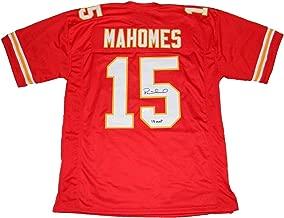 Autographed Patrick Mahomes Jersey - #15 Red W 18 Mvp - JSA Certified - Autographed NFL Jerseys