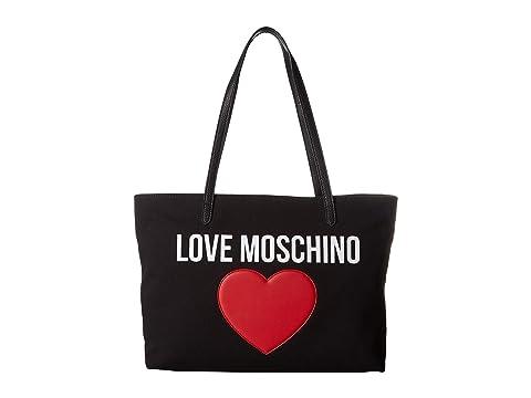 LOVE Moschino Canvas Tote