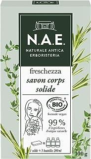N.A.E. - Savon Solide Douche Corps Rafraichissant - Gel Douche - Certifié Bio - Formule Vegan - 99 % d'ingrédients d'origi...