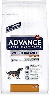 ADVANCE Veterinary Diets Weight Balance Mini - Pienso Para Perros Adultos Con Problemas De Sobrepeso De Razas Pequeñas - ...