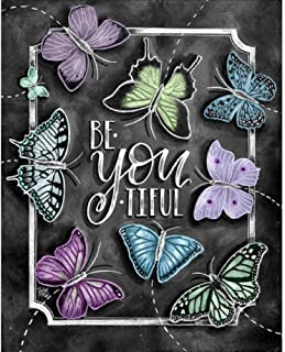 Diamond Painting Kits for Adults, Kids. Office Decoration, Home Room Butterfly 11.8x15.7in 1 Pack by Lighting S Direct