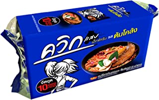 Thai food - Waiwai Instant Dried Noodles Tom Yum Klong (6 Pcs.)