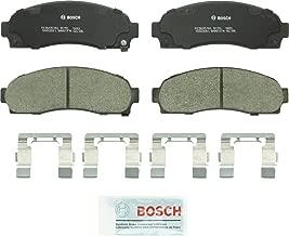 Bosch BC913 QuietCast Premium Ceramic Disc Brake Pad Set For 2005-2006 Chevrolet Equinox; 2006 Pontiac Torrent; 2002-2007 Saturn Vue; Front