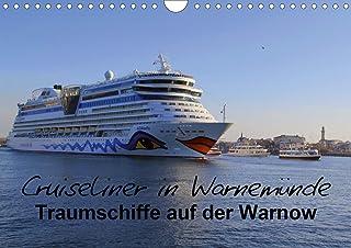 Cruiseliner in Warnemünde (Wandkalender 2021 DIN A4 quer)