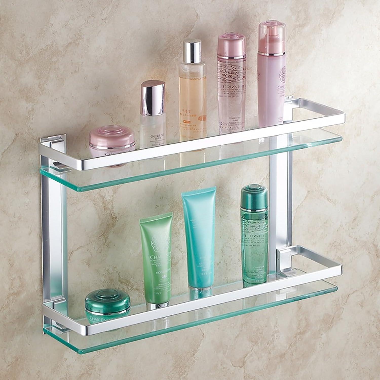 Bathroom shelves Bathroom Shelf   Glass Shelf Wall, Size 40 50 60cm ( Size   40cm )