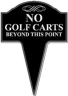 Best no golf cart signs Reviews