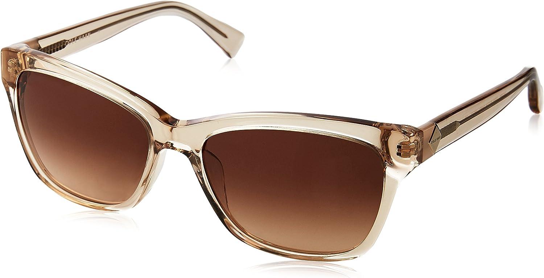 Cole Haan Women's Ch7009 Plastic Cateye Sunglasses, 58 mm