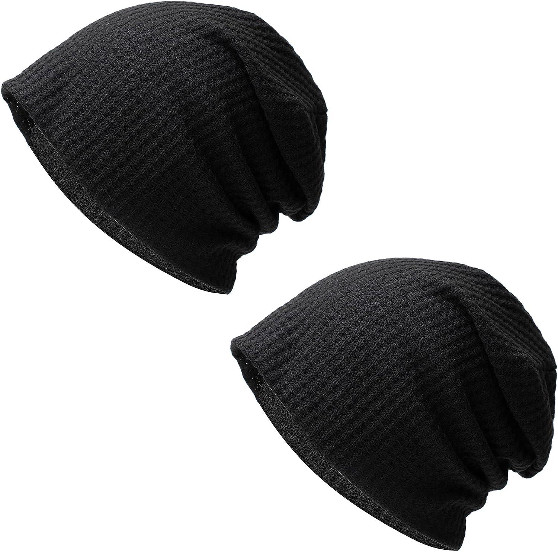 Zando Mens Beanie Cotton Beanies Skull Cap Slouchy Beanie Running Hat Lightweight Hip Hop Dwarf Hat Beanie Hat for Women