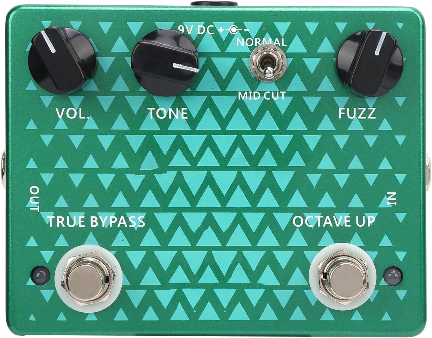 Pedales de guitarra, accesorio para instrumentos Pedal de distorsión portátil para todos los instrumentos para transmisión en vivo