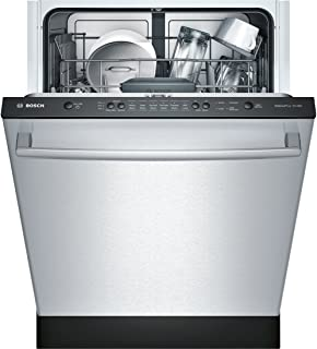bosch she3ar75uc ascenta 24 built in dishwasher stainless steel