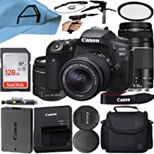 $1559 » Canon EOS 90D DSLR Camera 32.5MP Sensor with EF-S 18-55mm is STM & EF 75-300mm Daul Lens Kit, SanDisk 128GB Memory Card, C...