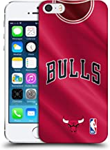 Official NBA Road Jersey 2018/19 Chicago Bulls Hard Back Case Compatible for Apple iPhone 5 / iPhone 5s / iPhone SE 2016