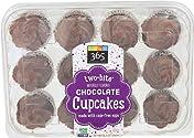 365 Everyday Value, Two-bite Chocolate Cupcakes, 10.5 oz
