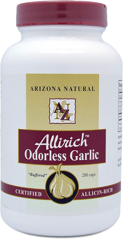 Arizona Natural latest Allirich Allicin-Rich Soft-gel Garlic Japan's largest assortment Odorless