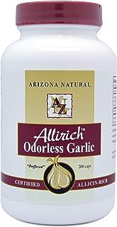 Arizona Natural Allirich (Allicin-Rich) Odorless Garlic Soft-gels