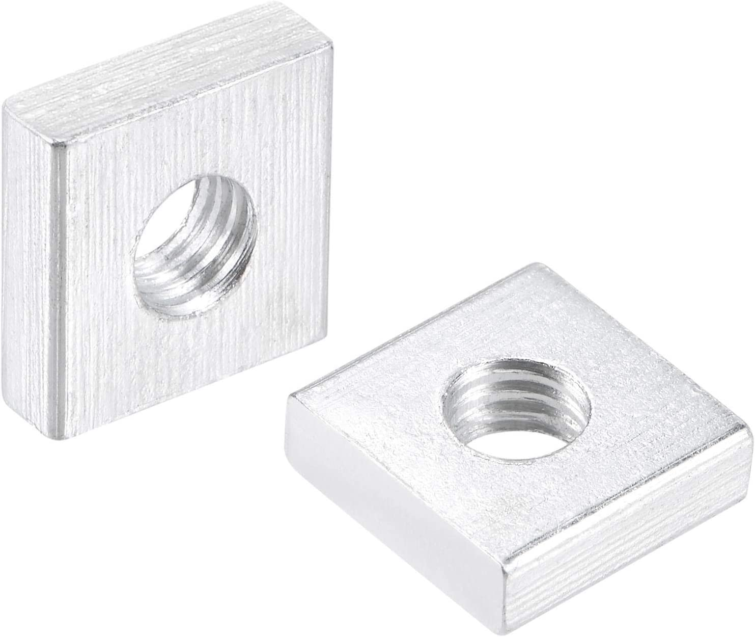 uxcell Square Surprise price shipfree Nuts M6x13mmx4mm Zinc-Plated Thread Metric Coarse