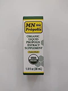 MN Propolis Organic Liquid Propolis Extract Supplement (30ml)