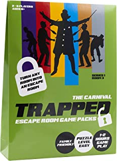Trapped CA001 Escape Room Game Pack Karneval