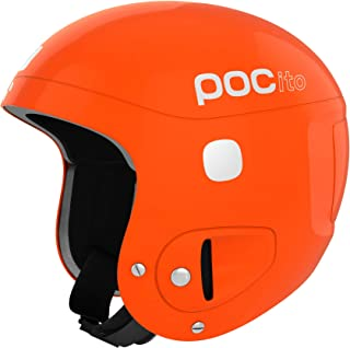 POC POCito Skull, Children's Helmet, Fluorescent Orange, ADJ