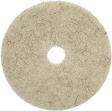 Natural Tan Hog Hair Floor Pad, 27
