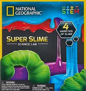 National Geographic NGSSSLINT Super Slime Science Lab Science Kit