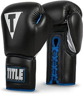 Title Platinum Perilous Lace Sparring Gloves
