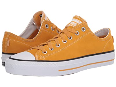 Converse Skate All Star Pro Suede Ox (Sunflower Gold/White/Sunflower) Men
