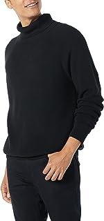 Amazon Essentials Men's 100% Cotton Rib Knit Turtleneck Sweater