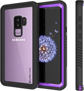Galaxy S9 Plus Waterproof Case, Punkcase [Extreme Series] [Slim Fit] [IP68 Certified] [Shockproof] [Snowproof] [Dirproof] Armor Cover W/Built in Screen Protector for Samsung Galaxy S9+ [Purple]