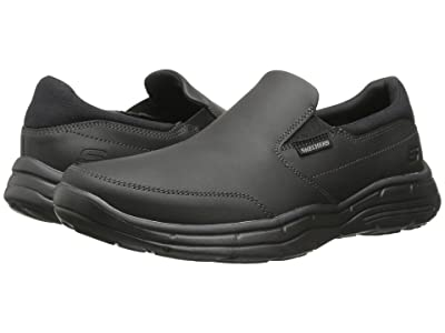 SKECHERS Relaxed Fit Glides Calculous (Black) Men
