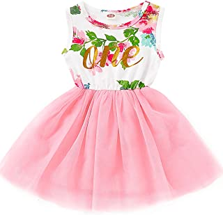 Baby Little Girl Birthday Family Matching Mommy and Baby Floral Outfit Sets