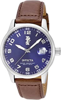 Invicta Men's 15254 I-Force Stainless Steel Watch With Brown Leather Band