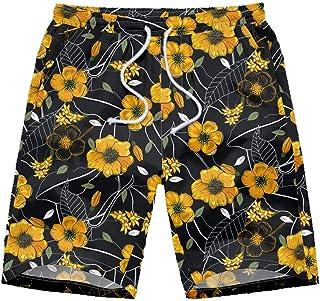 Jaromepower Summer Men's Swimwear, Men Casual Graffiti Printed Beach Work Casual Men Short Trouser Shorts Pants