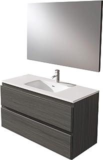 Amazon.es: mueble baño suspendido