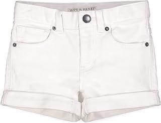 Hope & Henry Girls' Denim Short
