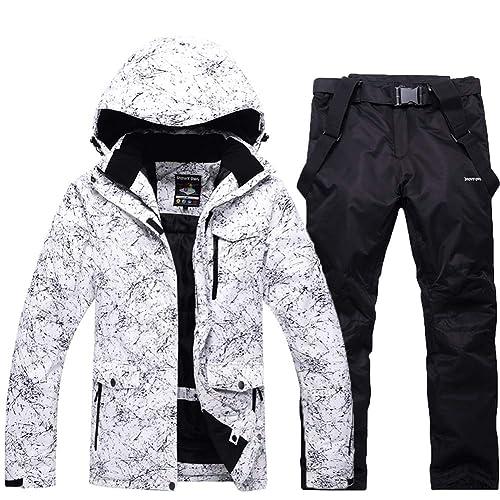 028e4520e6 Fashion Women s High Waterproof Windproof Snowboard Colorful Printed Ski  Jacket and Pants
