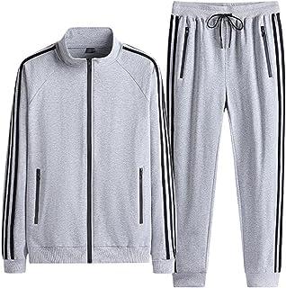Men's sports 2-piece sportswear casual jogging suit sports suit, Jogging Bottoms & Training Jacket are Breathable Quick Dr...