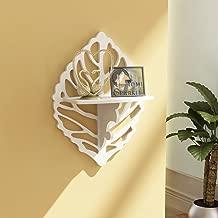 Home Sparkle Carved Shelf Engineered Wood (White)