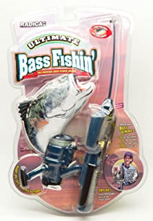 Radica Ultimate Bass Fishin' Fishing Pole Game