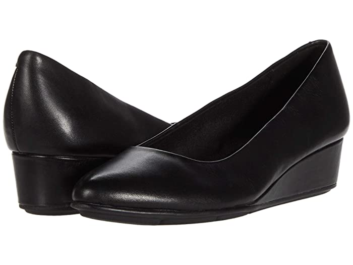 Buy WIDE shoes in 1920s, 1930s, 1940s, 1950s styles? Easy Spirit Abelle Black Womens Shoes $54.01 AT vintagedancer.com