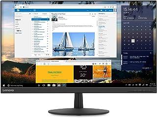 Lenovo L27q-30 27-inch QHD Monitor, LCD IPS, LED Backlit, 16:9, FreeSync, 75Hz, 4ms, Narrow Bezels, HDMI, DP, Tilt, VESA M...