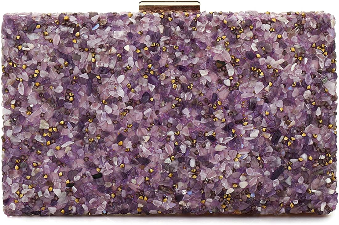 Elegant Sparkling Glitter Ranking TOP20 Evening Hand Bags Bling Time sale Clutch
