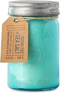 شمعة برطمان الصويا المعطرة من باديواكس ريليش كوليكشن، 248.58 مل، أكوا تايد وملح البحر